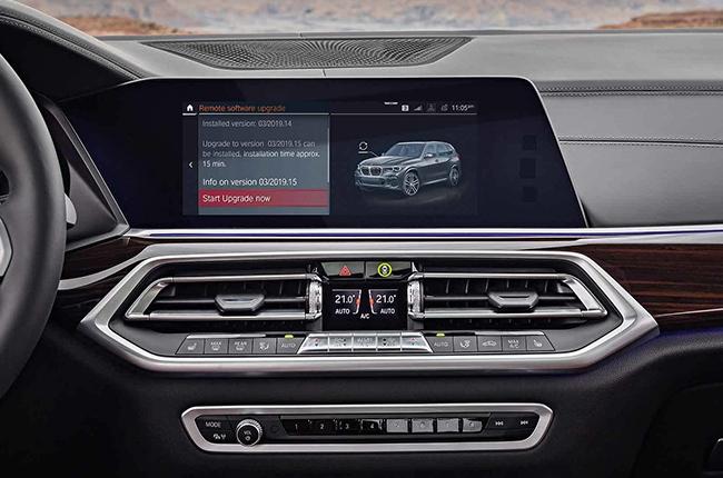 2019 BMW X5 infotainment system