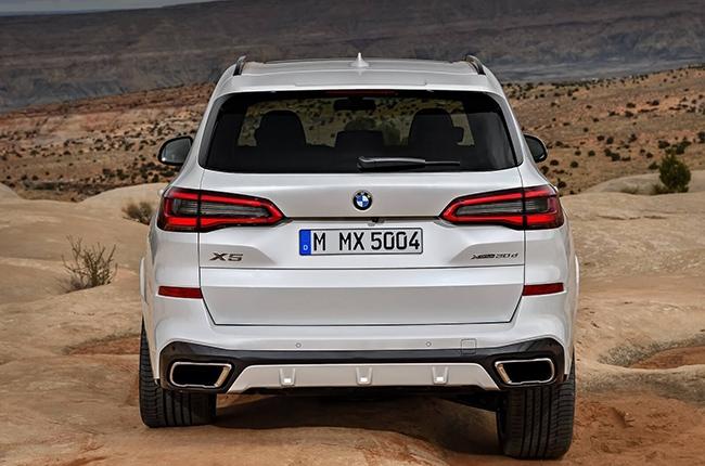 2019 BMW X5 taillights