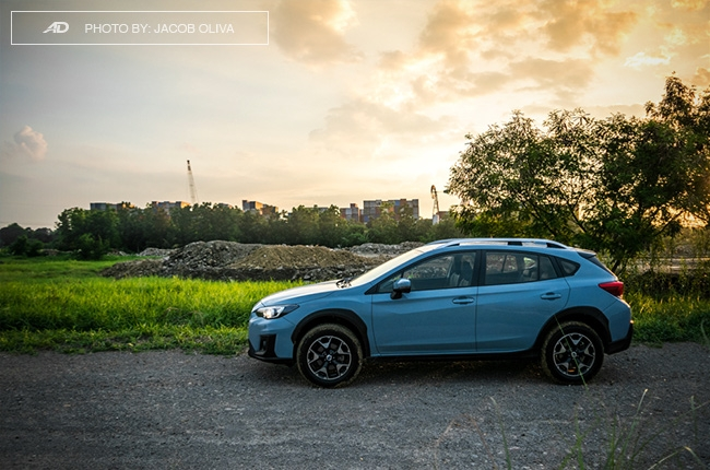 2018 subaru xv base X-Mode