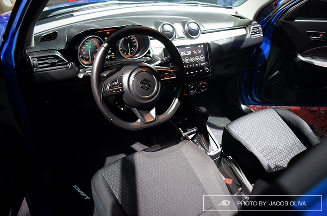 2019 Suzuki Swift Philippines interior
