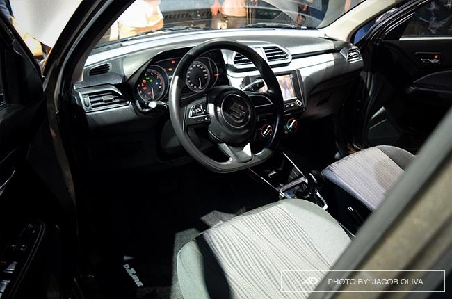 2019 Suzuki Dzire Philippines interior