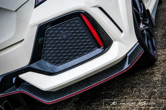 2018 Honda Civic Type R Philippines rear diffuser