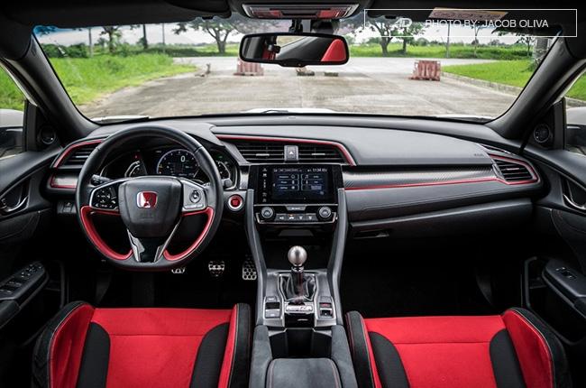 2018 Honda Civic Type R Philippines interior