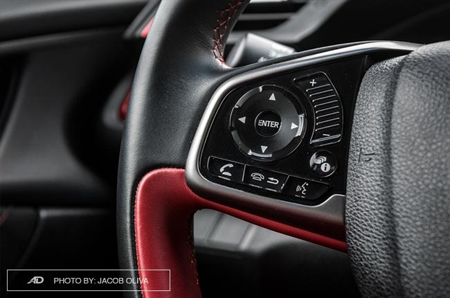 2018 Honda Civic Type R Philippines audio controls