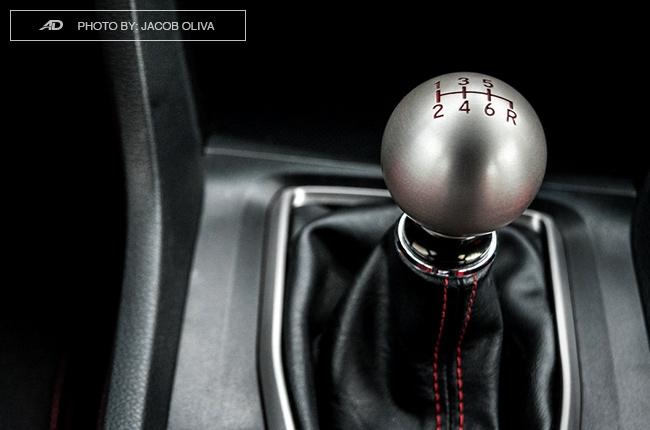 2018 Honda Civic Type R Philippines titanium gear shifter knob