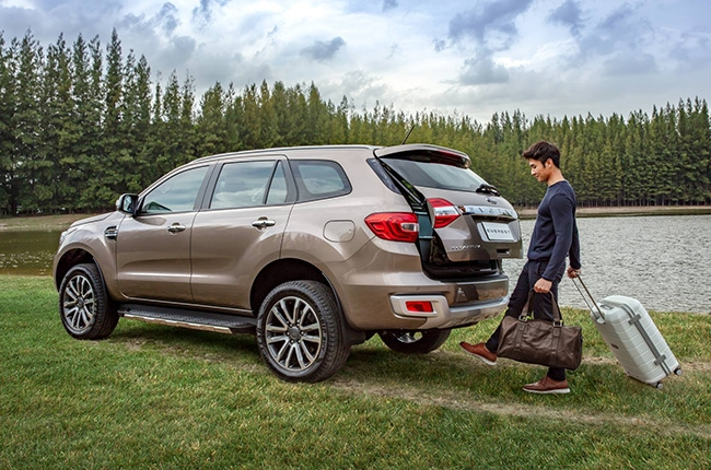 Ford Everest 2019 Power Liftgate