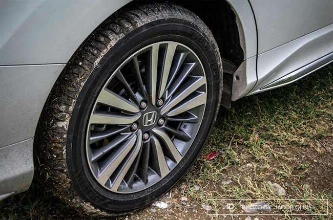 2018 Honda Odyssey Philippines review wheels