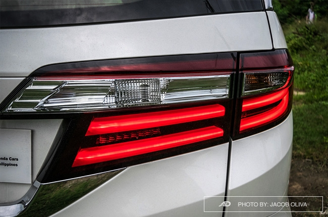 2018 Honda Odyssey Philippines review taillights