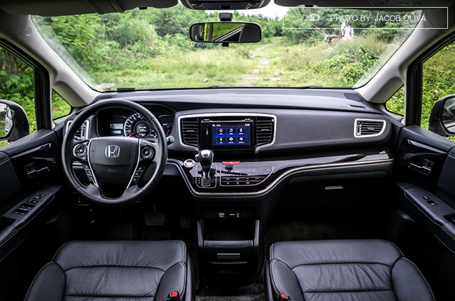 2018 Honda Odyssey Philippines review interior
