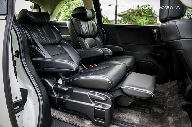 2018 Honda Odyssey Philippines review captain seats reclined