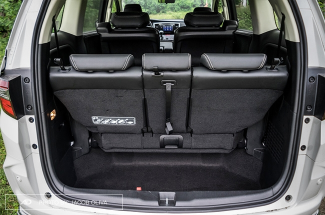 2018 Honda Odyssey Philippines review trunk