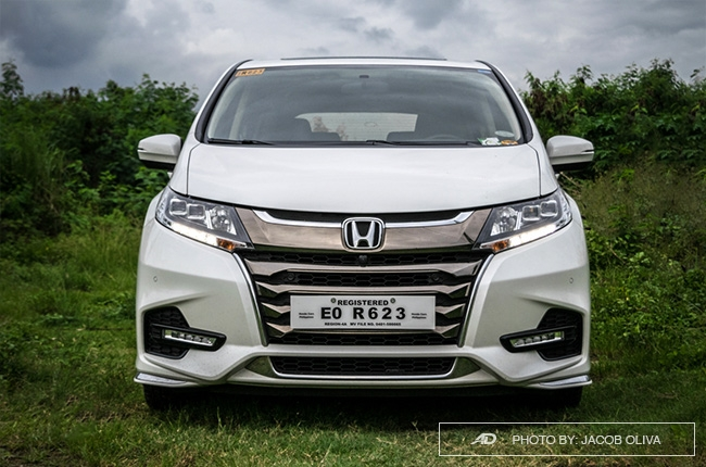 2018 Honda Odyssey Philippines review front