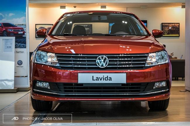 2018 Volkswagen Lavida front