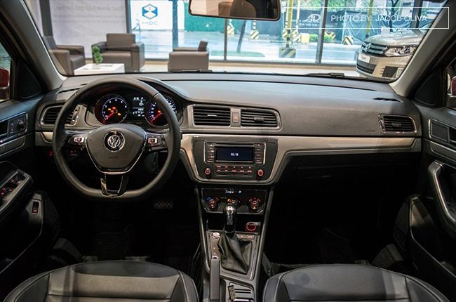 2018 Volkswagen Lavida interior