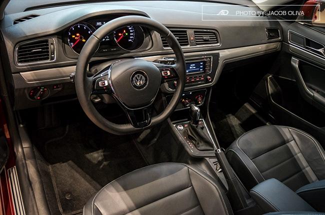 2018 Volkswagen Lavida cabin