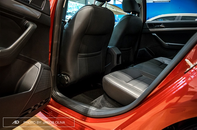 2018 Volkswagen Lavida rear legroom
