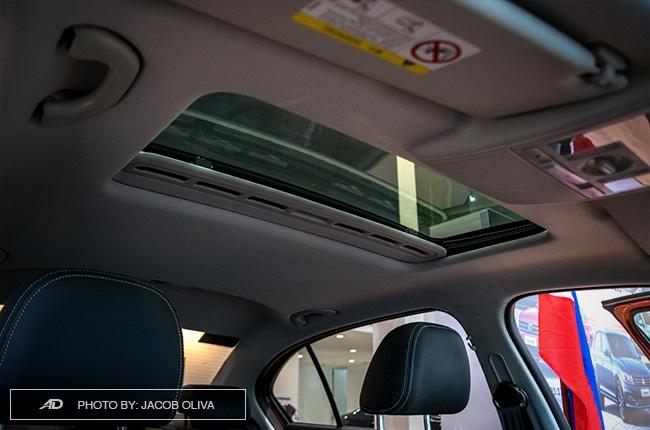 2018 Volkswagen Lavida sunroof