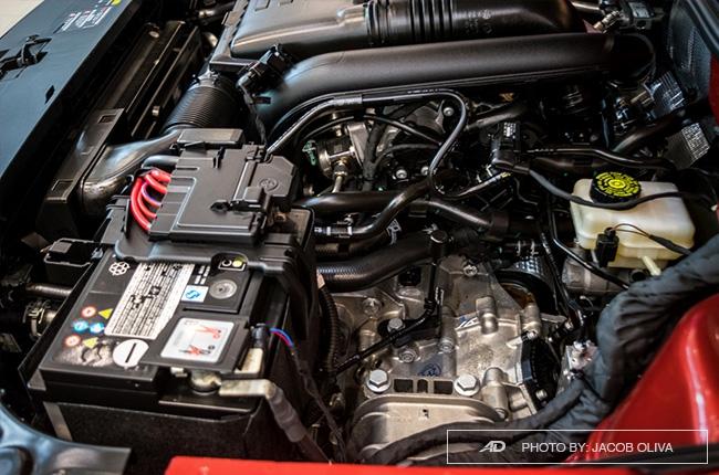 2018 Volkswagen Lavida engine