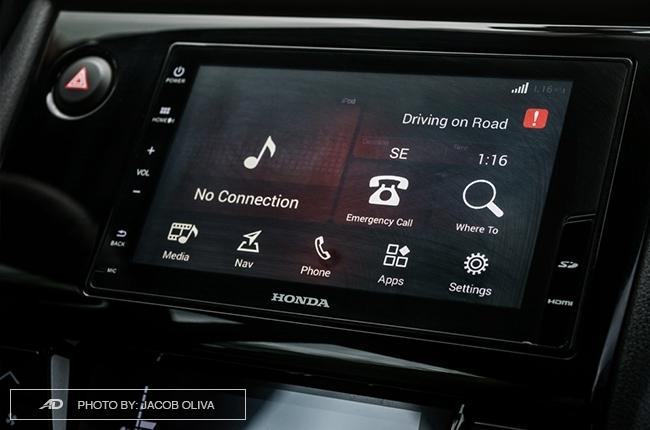 Honda BR-V infotainment