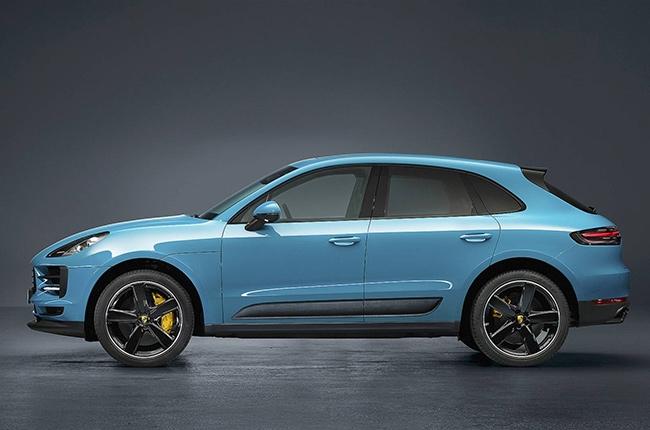 2019 Porsche Macan side