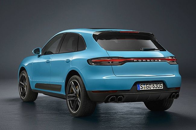 2019 Porsche Macan rear quarter