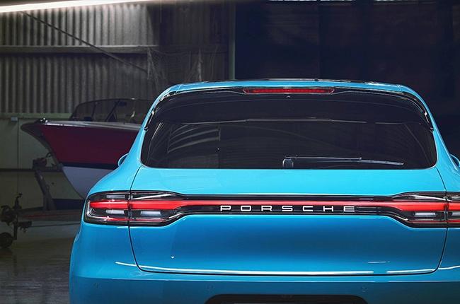 2019 Porsche Macan rear