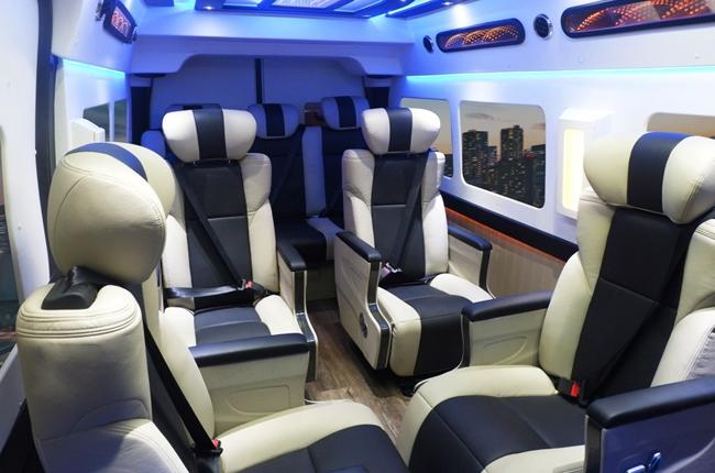 Foton Toano Limousine Interior