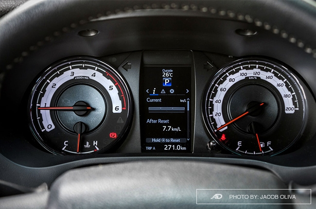 2018 Toyota Hilux Conquest instrument clusters