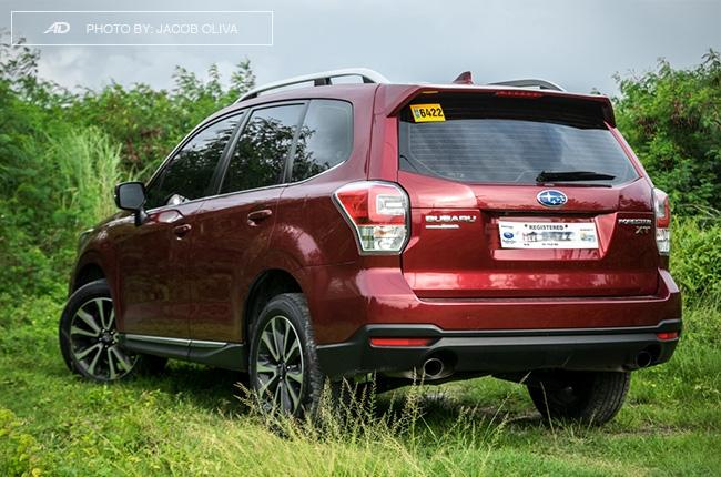 Subaru Forester XT rear quarter