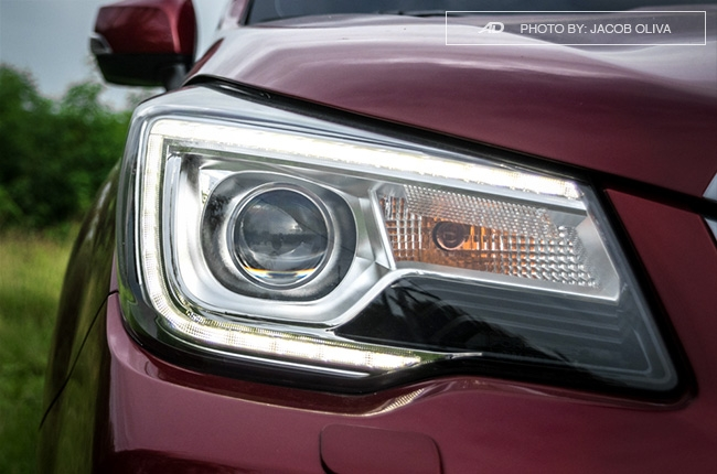 Subaru Forester XT headlights