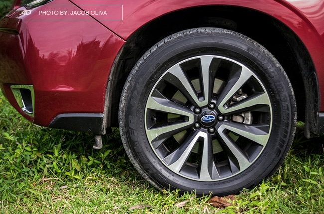Subaru Forester XT wheels