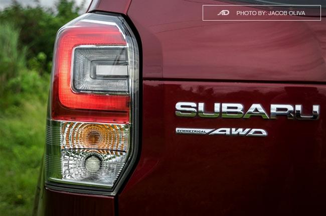 Subaru Forester XT taillights
