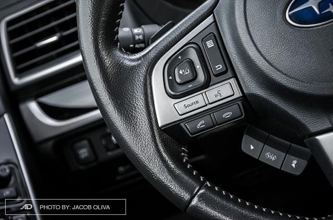 Subaru Forester XT audio controls