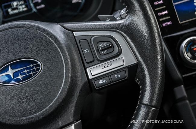 Subaru Forester XT cruise control
