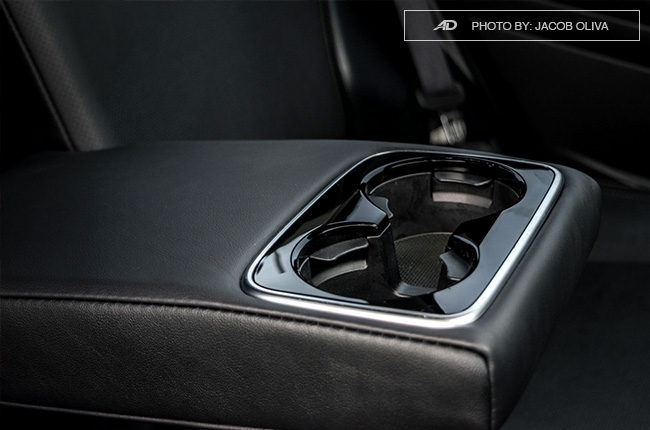 Subaru Forester XT center cupholders