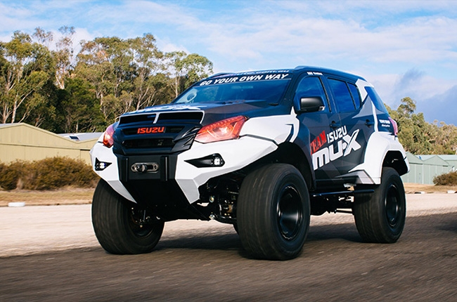 Isuzu Concept X mu-x d-max