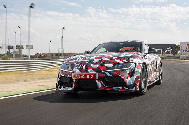 But the Supra stayed under the wraps for too long. It s actually confusing.  It s like the car wanted attention from the world with its reveal at  Goodwood 54289038fa