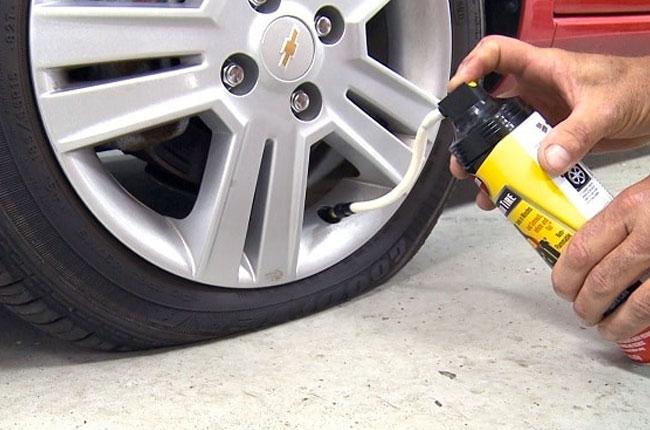Flat tire sealers