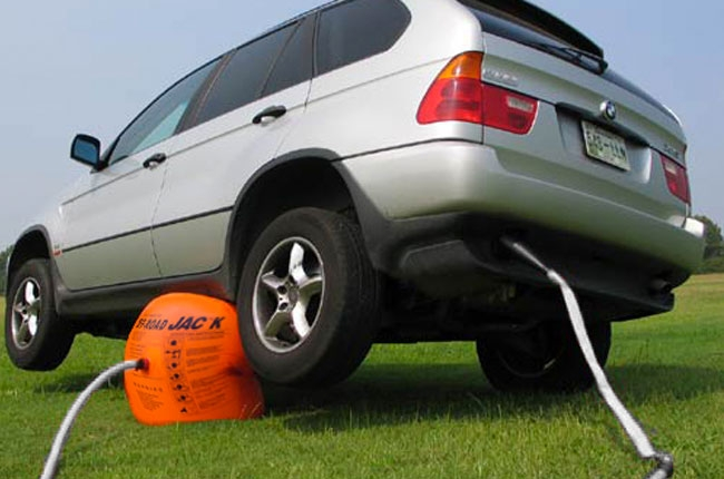 Car jack inflatable