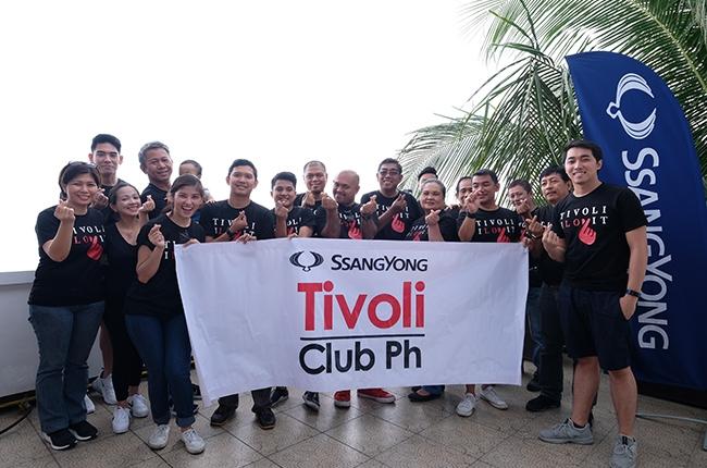SsangYong Tivoli Club Philippines