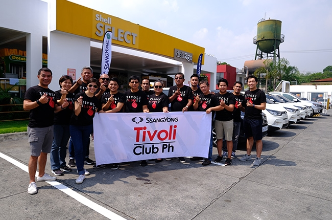 SsangYong Tivoli Club Philippines members
