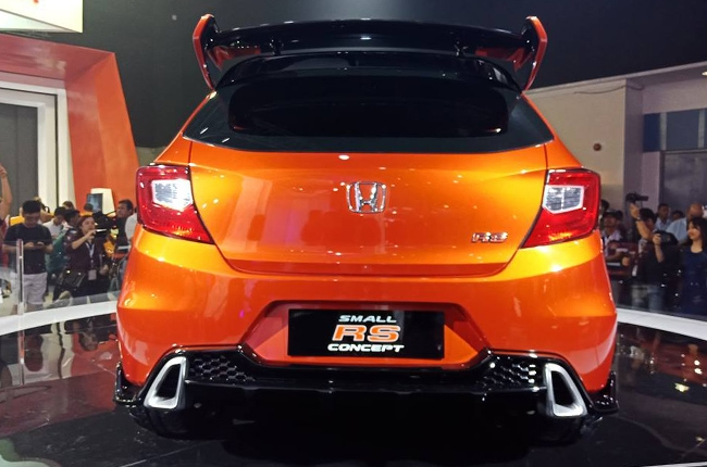 Honda Small RS Concept rear
