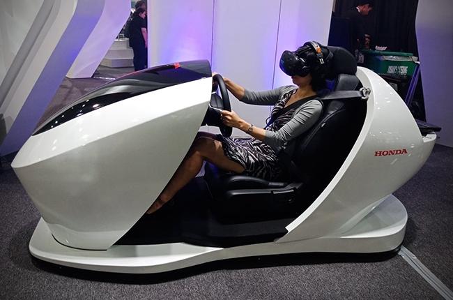 Honda Sensing System VR