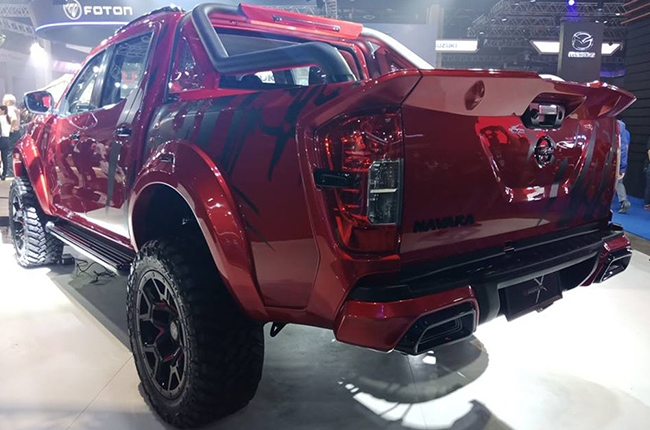 Nissan Navara Warrior X special edition