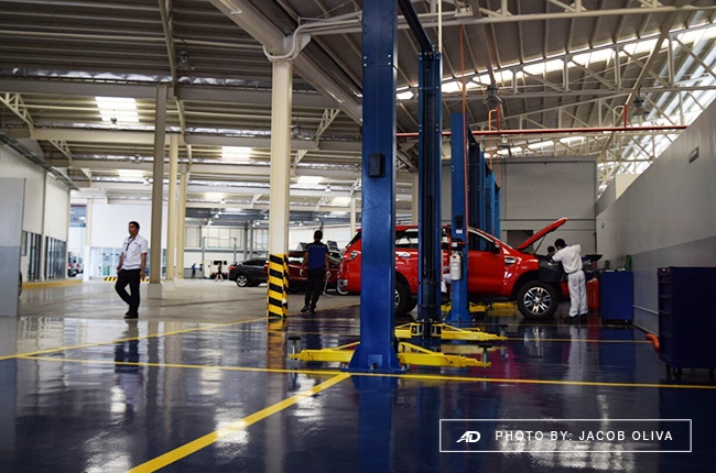 Ford vehicle service maintenance