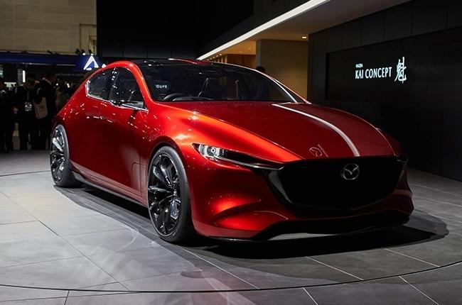 Mazda Kai Concept front