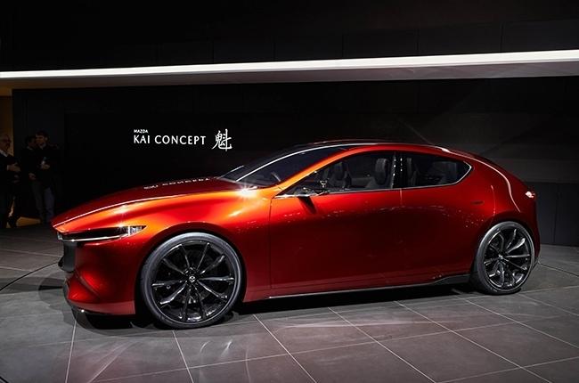 Mazda Kai Concept side
