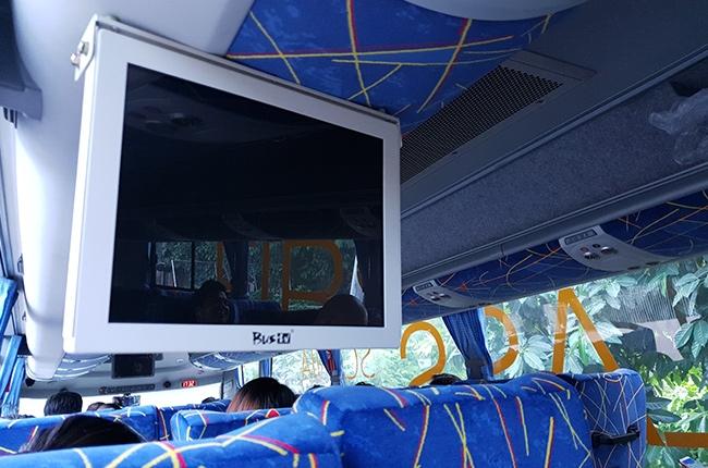 Extra rear monitor