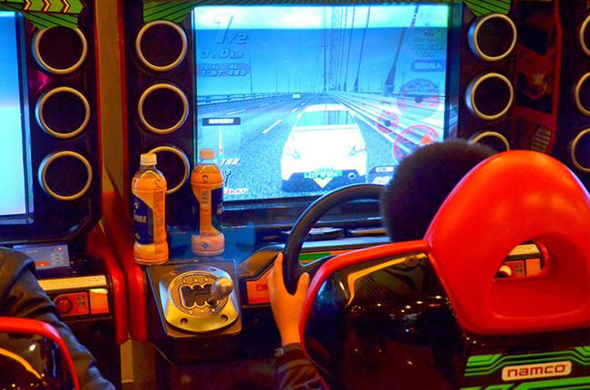 arcade driving