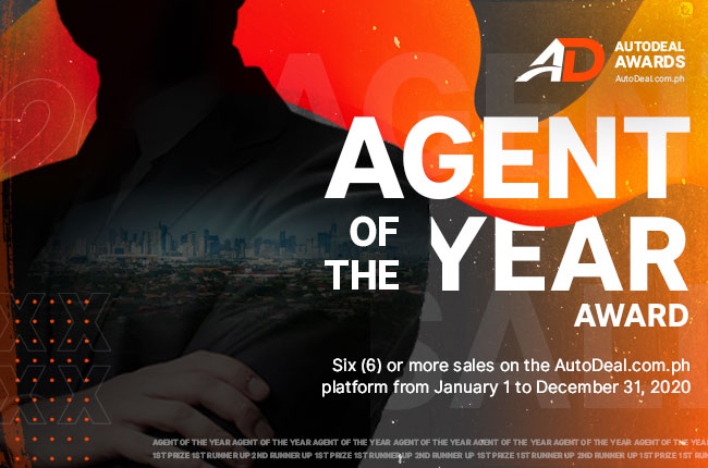 AutoDeal 2020 Agent of the Year Award